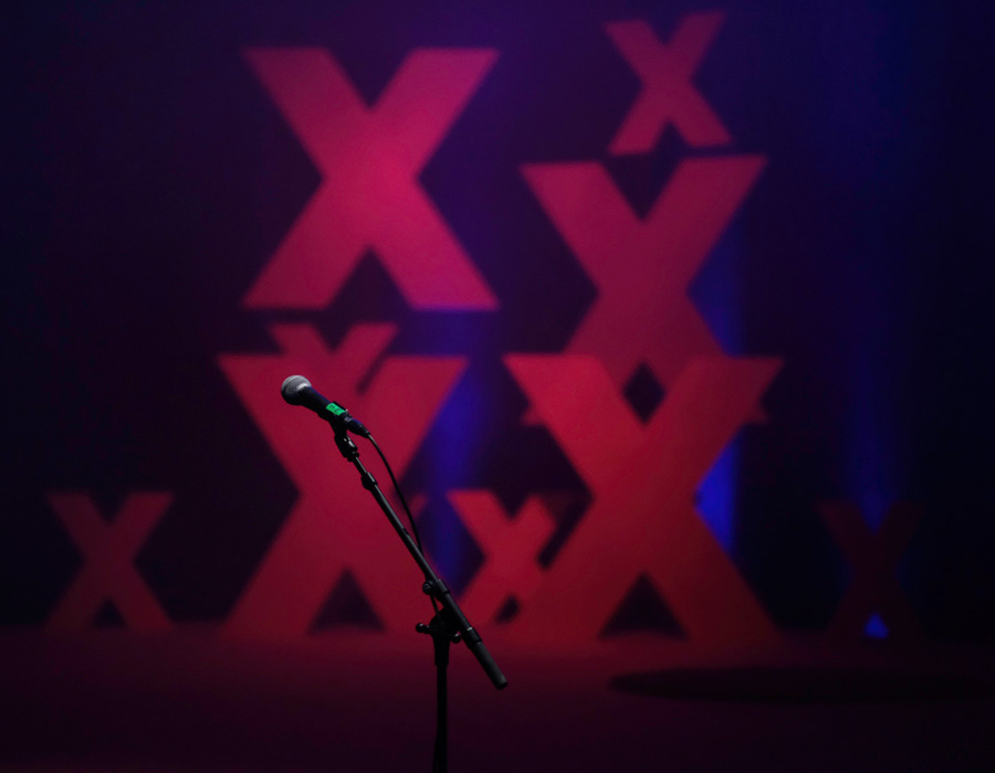 Escenario de los TEDx Galicia